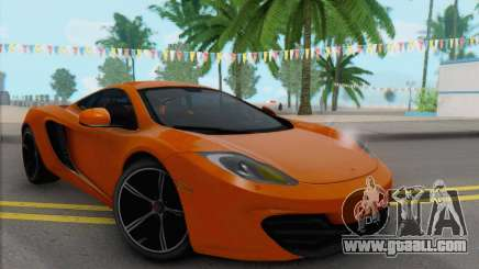 McLaren MP4-12C Gawai v1.4 for GTA San Andreas