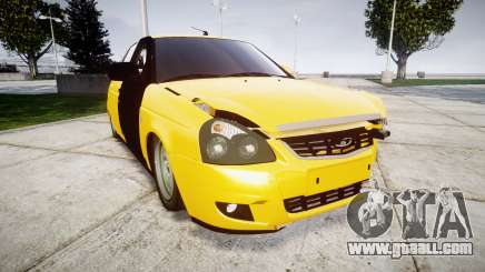 VAZ-Lada 2170 Priora hobo for GTA 4