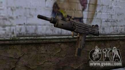 Uzi из Call of Duty Black Ops for GTA San Andreas
