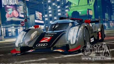 Audi R18 TDI (Revised) for GTA 4