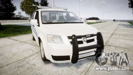 Dodge Grand Caravan [ELS] Liberty County Sheriff for GTA 4