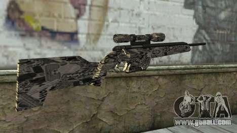 New sniper rifle for GTA San Andreas second screenshot