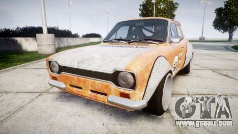 Ford Escort Mk1 Rust Rod v2.0 for GTA 4
