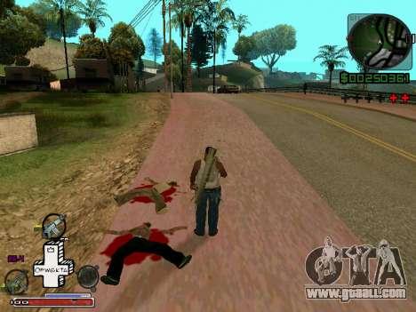 C-HUD Optiwka for GTA San Andreas second screenshot