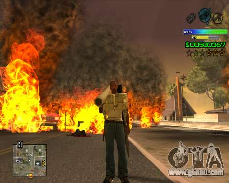 C-HUD Simple for GTA San Andreas