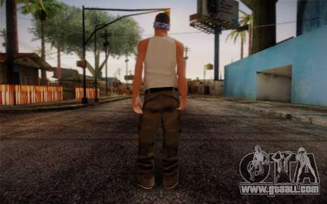 New Fam Skin 2 for GTA San Andreas second screenshot