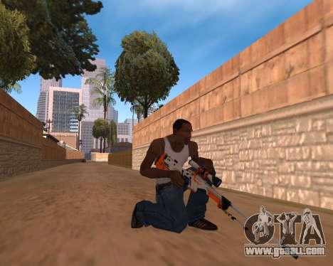 CS:GO Weapon pack Asiimov for GTA San Andreas