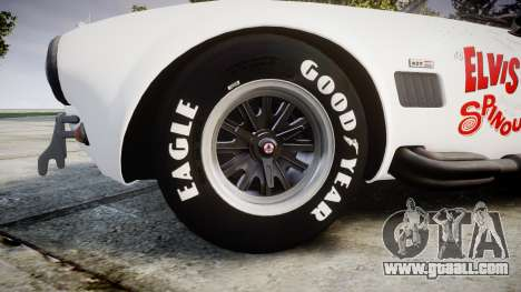AC Cobra 427 PJ3 for GTA 4 back view