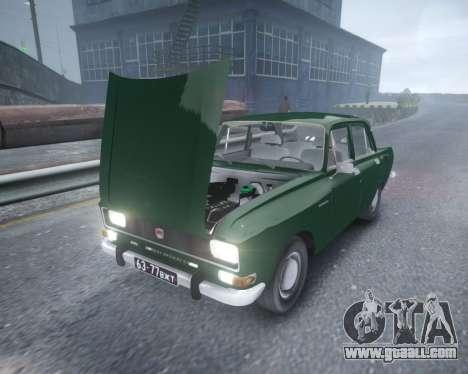AZLK 2140 for GTA 4 inner view