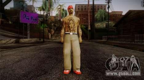 Fresno Buldogs 14 Skin 1 for GTA San Andreas