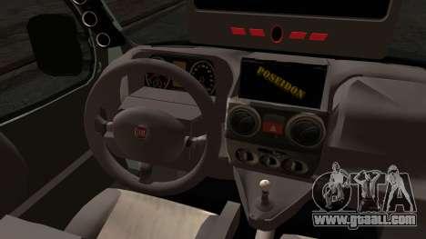 Fiat Doblo 2005 for GTA San Andreas back left view
