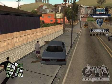 Police HUD for GTA San Andreas forth screenshot