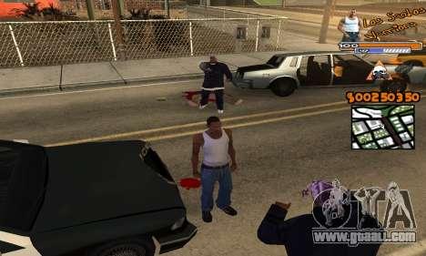 C-HUD by Fernando Delgado for GTA San Andreas third screenshot