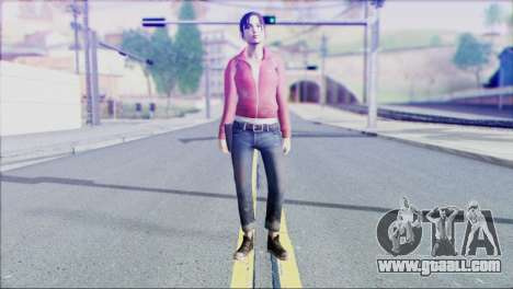 Left 4 Dead Survivor 1 for GTA San Andreas