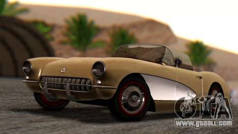 Chevrolet Corvette C1 1962 Dirt for GTA San Andreas