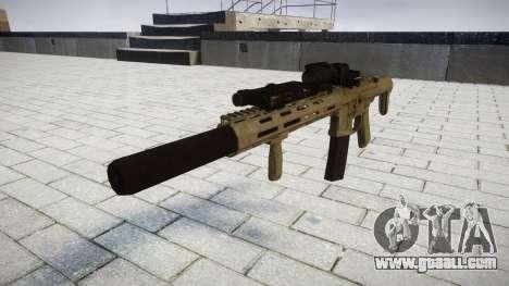 Assault rifle AAC Honey Badger [Remake] tar for GTA 4