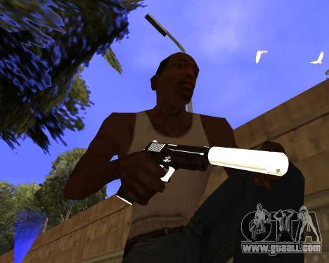 Hitman Weapon Pack v2 for GTA San Andreas
