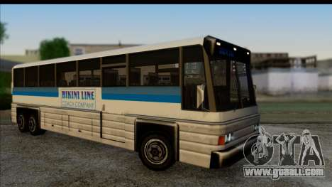 Coach with 3D interior for GTA San Andreas