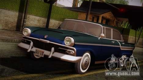 Smith Custom 200 from Mafia Il for GTA San Andreas