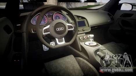 Audi R8 plus 2013 Wald rims for GTA 4 side view
