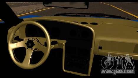 Bugatti EB110SS for GTA San Andreas back left view