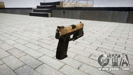 Gun HK USP 45 dusty for GTA 4 second screenshot