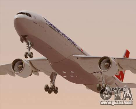 Airbus A330-300 Turkish Airlines for GTA San Andreas engine