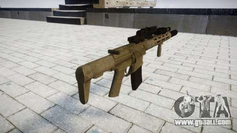 Assault rifle AAC Honey Badger [Remake] for GTA 4 second screenshot