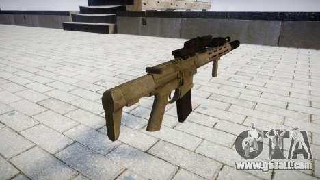 Assault rifle AAC Honey Badger [Remake] for GTA 4 second screenshot