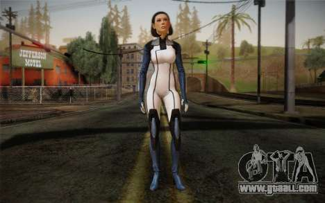 Dr. Eva Core New face from Mass Effect 3 for GTA San Andreas