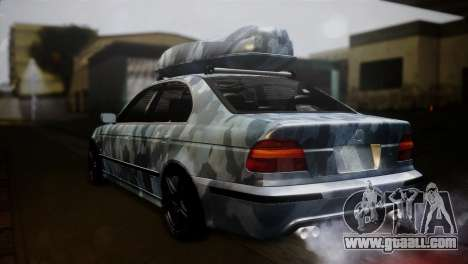 BMW M5 E39 Camouflage for GTA San Andreas left view