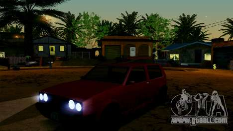 ENB for weak and medium PC SA:MP for GTA San Andreas tenth screenshot