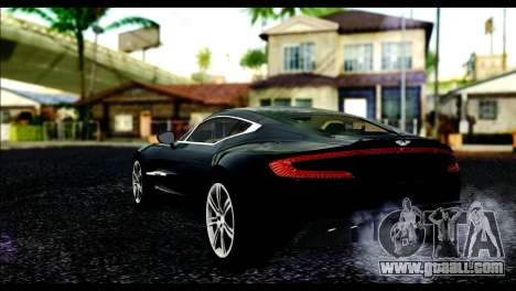 Aston Martin One-77 Beige Black for GTA San Andreas left view