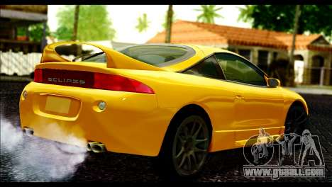 Mitsubishi Eclipce 1999 for GTA San Andreas left view