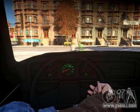 AZLK 2140 for GTA 4 back view