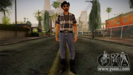 Gedimas Edward Skin HD for GTA San Andreas