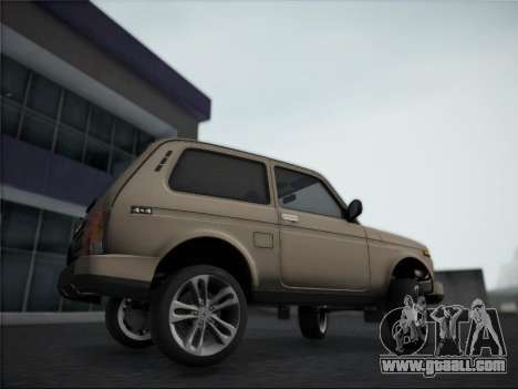 Lada Urdan for GTA San Andreas back left view