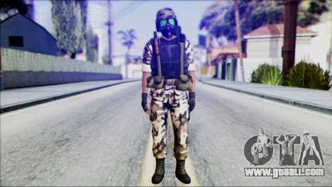 Hecu Soldier 2 from Half-Life 2 for GTA San Andreas