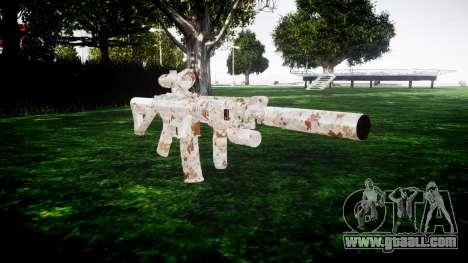 Machine M4 Devgru for GTA 4