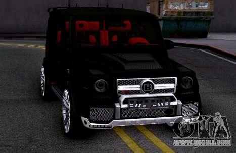 Brabus 700 for GTA San Andreas