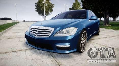 Mercedes-Benz S65 W221 AMG v2.0 rims2 for GTA 4