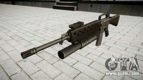 Rifle M16A2 M203 sight4 for GTA 4
