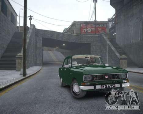 AZLK 2140 for GTA 4 back left view