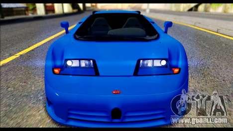 Bugatti EB110SS for GTA San Andreas right view