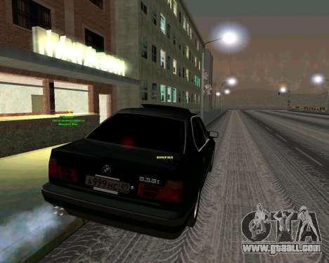 BMW 535i Stock for GTA San Andreas left view