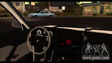 Tofas Dogan 90 Model for GTA San Andreas back left view