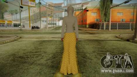 Kebaya Girl Skin v2 for GTA San Andreas second screenshot