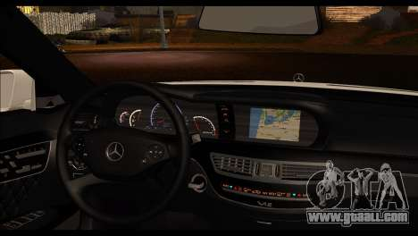 Mercedes-Benz S70 for GTA San Andreas back left view