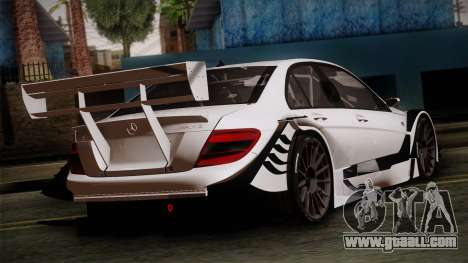 Mercedes-Benz C-Coupe AMG DTM for GTA San Andreas left view