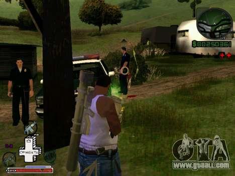 C-HUD Optiwka for GTA San Andreas